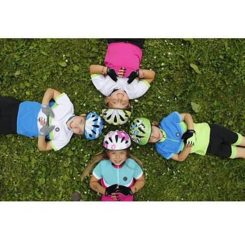 koszulka na rower bambino blue/yellow fluo 152/158 marki Etape