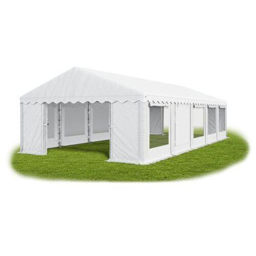 Namiot 6x10x2, solidny namiot bankietowy, winter/pe 60m2 - 6m x 10m x 2m marki Das company