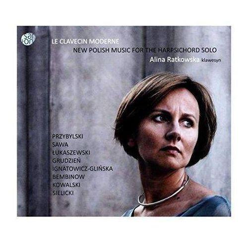Le clavecin moderne - new polish music for the harpsichord (digipack) (cd) - alina ratkowska marki Warner music