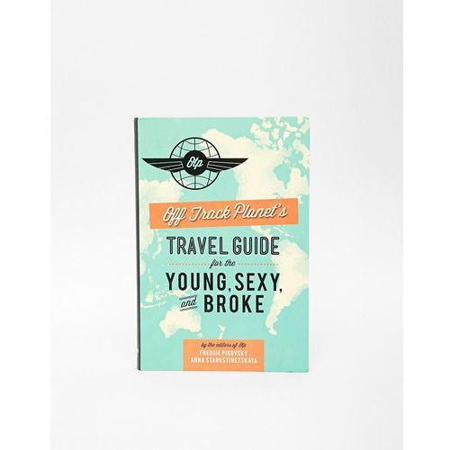 Travel Guide For The Young Sexy & Broke Book - Multi z kategorii Gadżety