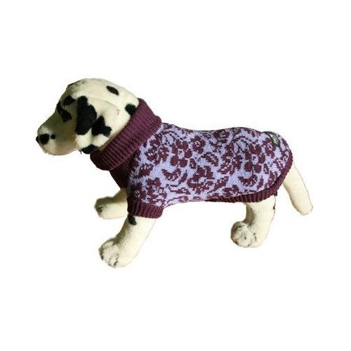 AMI PLAY Sweter dla psa Kwiatki Fioletowe rozmiary 1-6