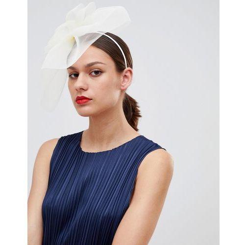 Asos design statement occasion bow fascinator headband - cream