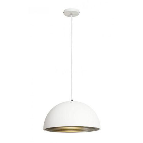 Slv Forchini m, pd-2, 40cm, okrągła, biało srebrna, e27, max. 40w