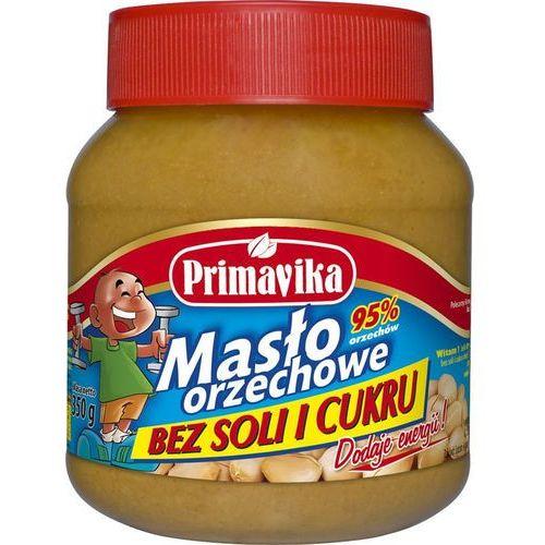 Masło orzechowe bez soli i cukru 350g (5900672300659)