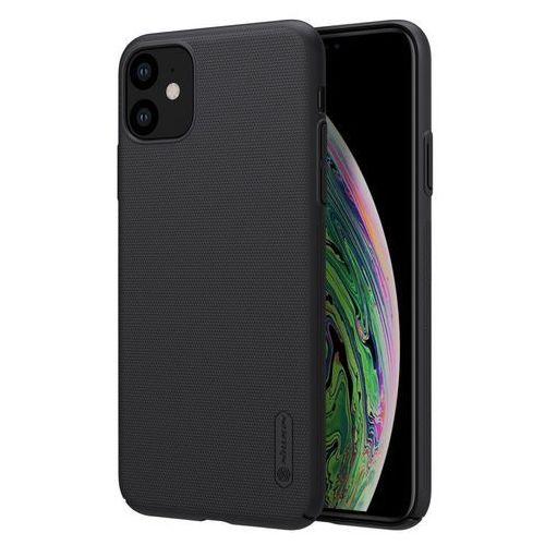 Nillkin super frosted shield wzmocnione etui pokrowiec + podstawka iphone 11 czarny