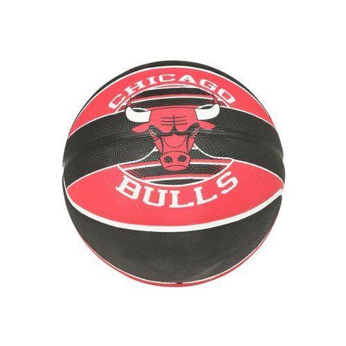 Spalding NBA TEAM CHICAGO BULLS Piłka do koszykówki schwarz/rot (4051309622918)