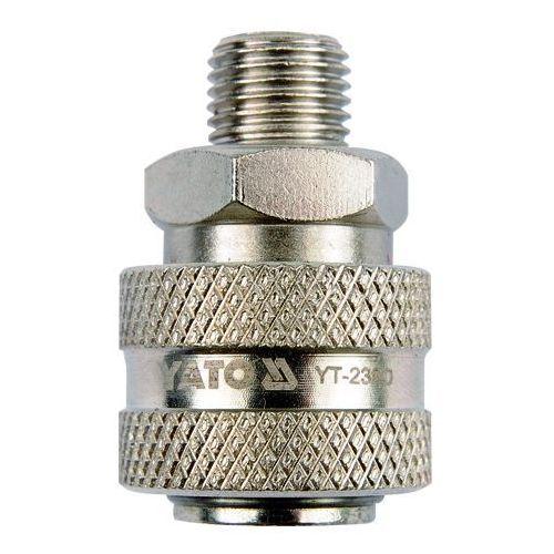 Szybkozłącze, gwint zewnętrzny 3/8'' / yt-2391 /  - zyskaj rabat 30 zł marki Yato