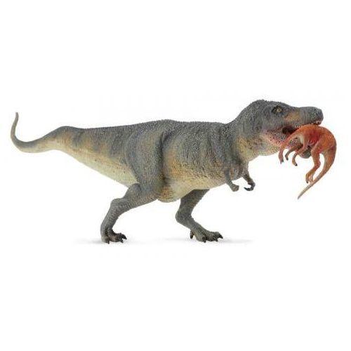 Dinozaur tyrannosaurus rex z ofiarą - Dante Alighieri