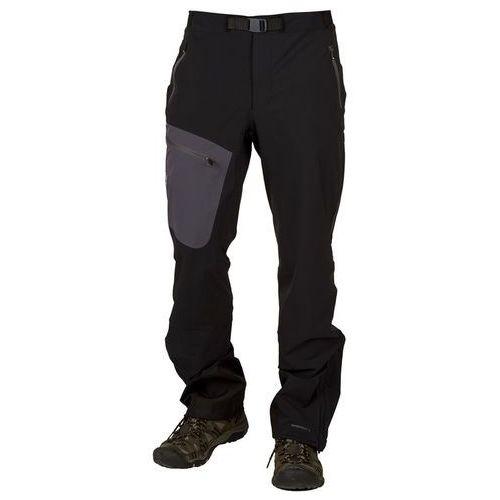 badile ii spodnie długie mężczyźni regular czarny s 2017 spodnie turystyczne marki Vaude