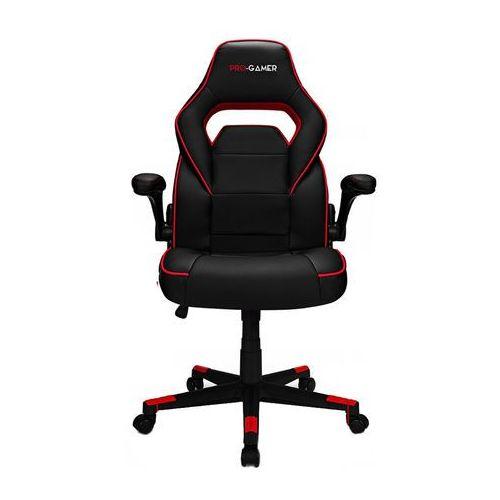 Fotel gamingowy STRIKE czerwony PRO-GAMER dla gracza