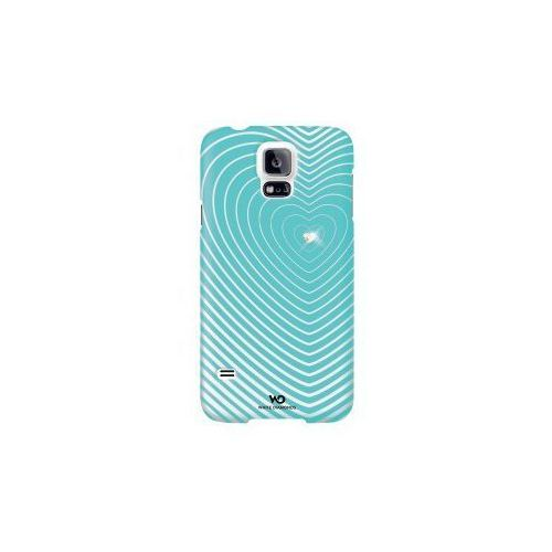 Etui HAMA do Galaxy S5 White Diamonds Heart Beat Miętowy