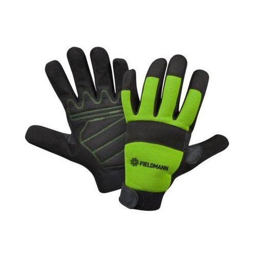 Rękawice ogrodowe FIELDMANN FZO 6010 Czarno-zielony (rozmiar XL) (8590669155200)