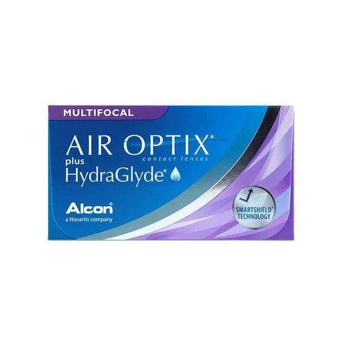 Air optix plus hydraglyde multifocal 3 szt. marki Alcon