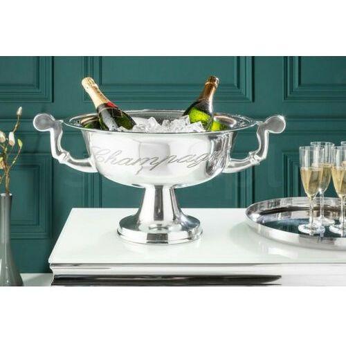 Invicta chłodziarka champagne srebrna - aluminium marki Sofa.pl