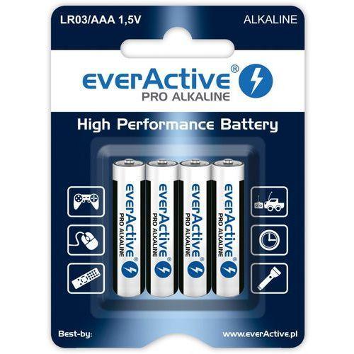 Bateria pro alkaline lr03/aaa (4 szt.) marki Everactive
