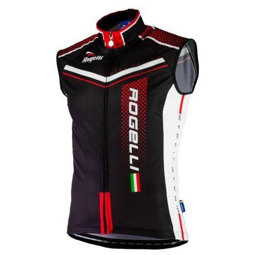Rogelli Gara Mostro - męska kamizelka rowerowa (czarno-czerwony)