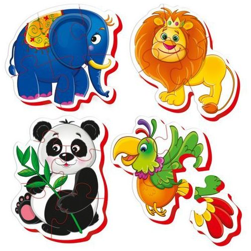 Roter kafer Baby puzzle zoo rk1102-02
