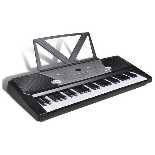 vidaXL 54- Klawiszowy Keyboard Elektryczny z podstawką na nuty