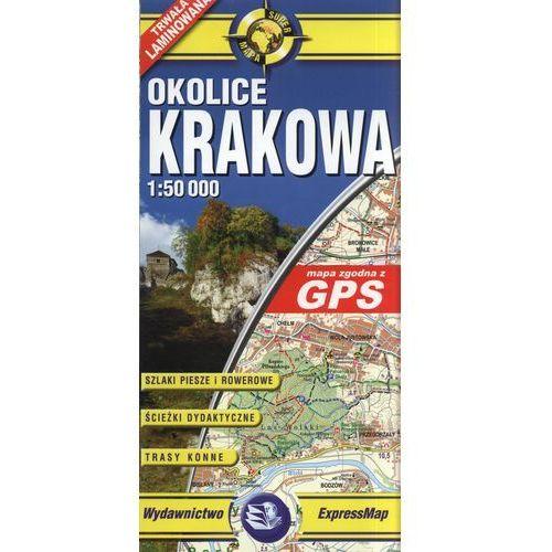 Krakowów okolice mapa laminowana 1:50 000 ExpressMap, EXPRESSMAP