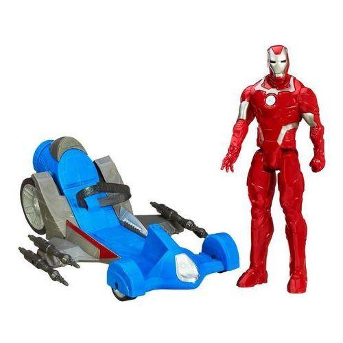 Figurka HASBRO Avengers Tytan 30 cm z pojazdem B0431 WB4 + DARMOWY TRANSPORT! (5010994853242)