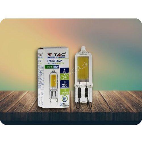 G9 Żarówka LED 2W (230 lm) + Bezpłatna natychmiastowa gwarancja wymiany! Zimna biała 6000K