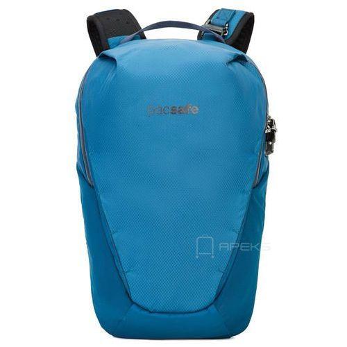 """Pacsafe Venturesafe X18 plecak antykradzieżowy na laptopa 13"""" / niebieski - Blue Steel, kolor niebieski"""