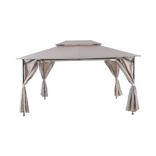 Pawilon ogrodowy 3 x 4 m oxis taupe marki Naterial