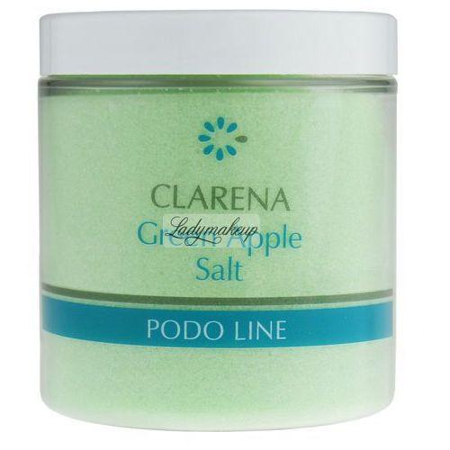 Clarena podo line green apple sól do kąpieli do nóg 250 g (5902194803335)