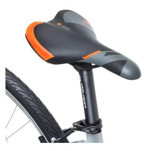 """Devron Damski crossowy rower elektryczny 28162 28"""" - model 2018, srebrny, 18"""" (8596084079923)"""