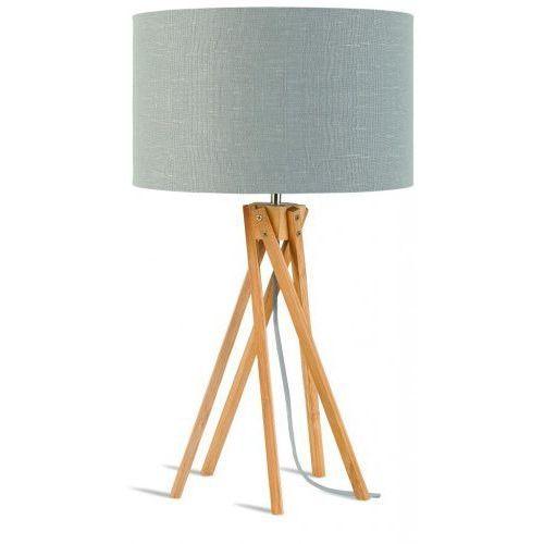 It's about romi Lampa stołowa kilimanjaro 5-nożna 34cm/ abażur 32x20cm, lniany jasnoszary