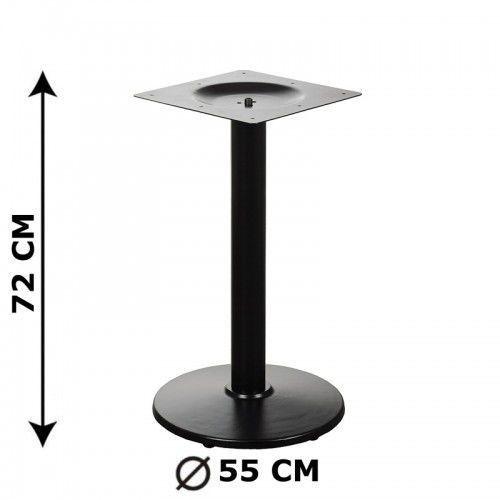 Podstawa stolika E72/55/72, żeliwna, śr. Podstawy 55 cm (stelaż stolika)