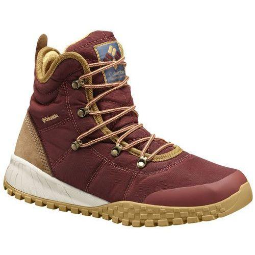fairbanks omni-heat buty mężczyźni brązowy/czerwony 47 2017 buty zimowe marki Columbia