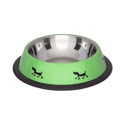 LoLo Pets Miska na gumie w kolorze ZIELONYM 2.7l nr kat.97245