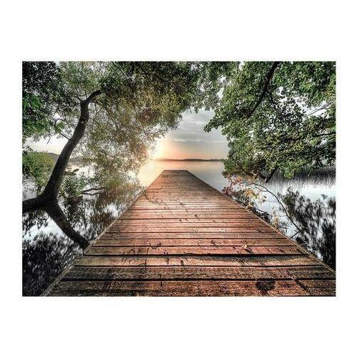 Obraz Canvas Lake Bride 85 x 113 cm