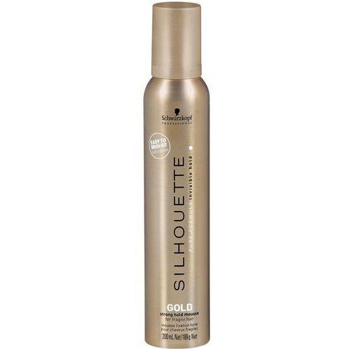 Schwarzkopf Silhouette Gold - Bardzo mocna pianka do włosów wrażliwych 200 ml