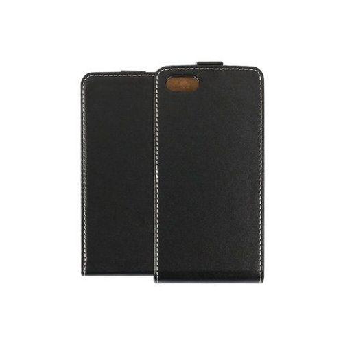 Huawei Y5 (2018) - etui na telefon Forcell Slim Flexi - czarny, kolor czarny