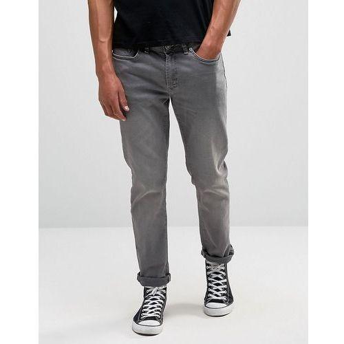 slim fit jeans in grey - grey marki River island