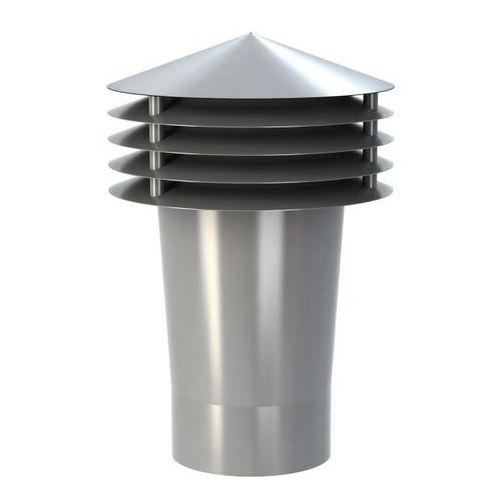 Wywietrznik grawitacyjny Wirplast K1101 fi 110 mm szary, K1101