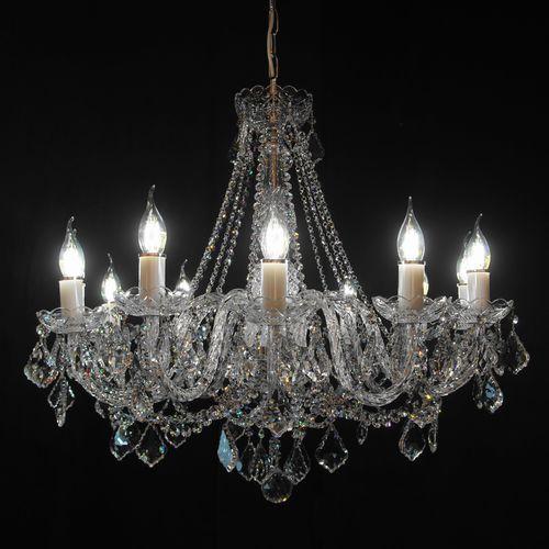 Żyrandol kryształowy 12-ramienny - marki Elite bohemia
