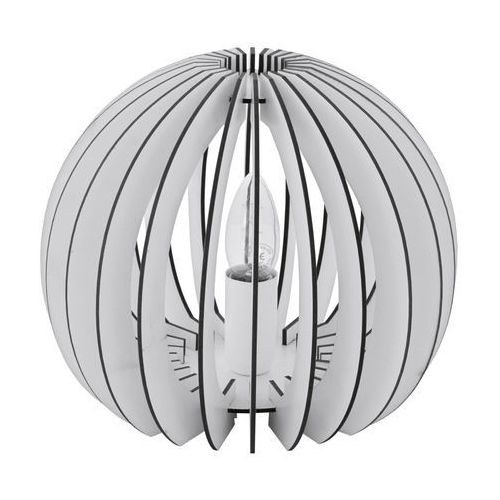 Eglo cossano lampa stołowa biały, 1-punktowy - nowoczesny - obszar wewnętrzny - cossano - czas dostawy: od 8-12 dni roboczych
