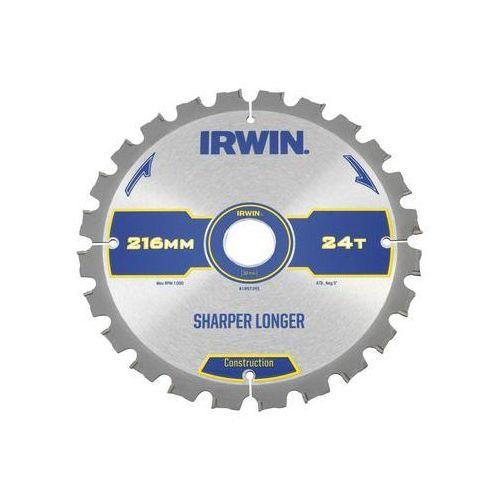 Tarcza do pilarki tarczowej 216MM/24T M/30 śr. 235 mm 24 z IRWIN CONSTRUCTION