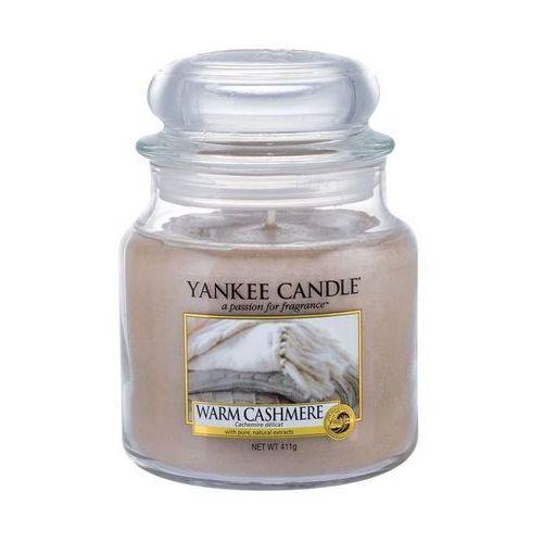 Yankee home Świeca yankee słoik średni warm cashmere - ysswc (5038581016665)