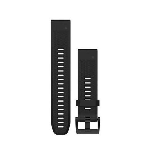 Pasek do zegarka sportowego GARMIN Approach S60/Fenix 5/Forerunner 935/Quatix 5/Quatix 5 Sapphire Czarny 010-12496-00 (0753759176792)