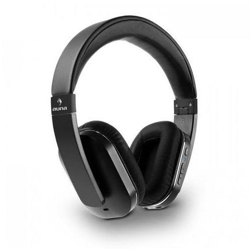 auna Elegance ANC Słuchawki NFC Bluetooth zestaw słuchawkowy czarny