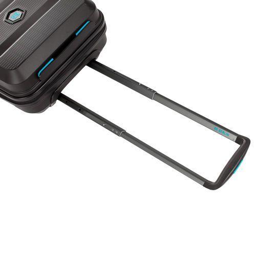 BG Berlin ZIP2 walizka mała kabinowa walizki antywłamaniowa 20/55 cm / czarna - Rock-Star Black (6906053058880)