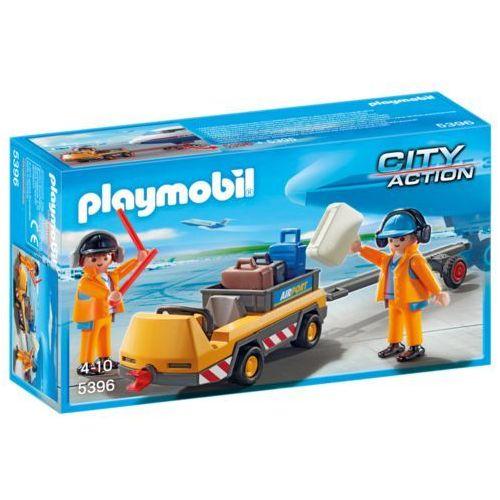 Playmobil CITY ACTION Holownik samolotu z kontrolerem ruchu 5396