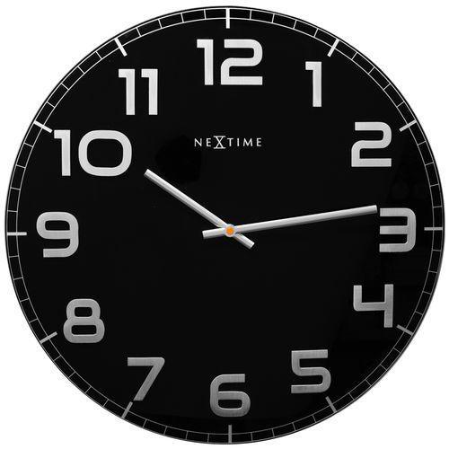 Zegar Nextime Classy Large 50 cm black