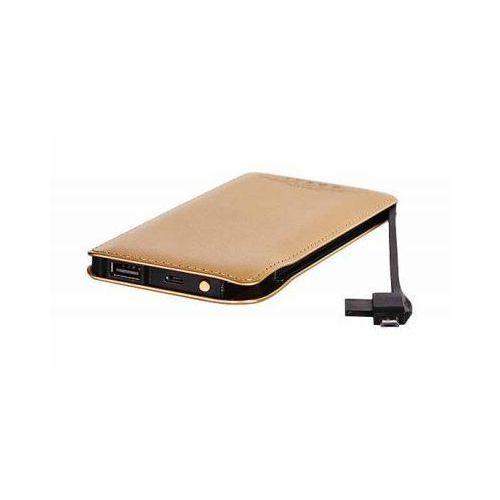 Bateria Zewnętrzna Power Bank Tel1 Slim 8000mAh Złoty, tel1slim8000gold