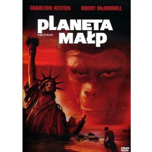 Planeta małp (DVD) - Franklin J. Schaffner DARMOWA DOSTAWA KIOSK RUCHU (5903570101168). Najniższe ceny, najlepsze promocje w sklepach, opinie.