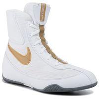 Buty - machomai 321819 170 white/metallic gold/cool grey, Nike, 42-46